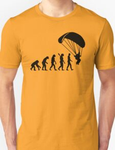 Evolution Skydiving Parachute jumping T-Shirt