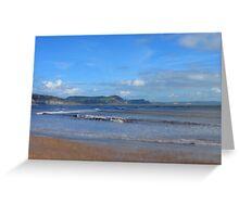 Autumnal Lyme Bay Greeting Card