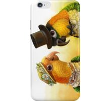 Mr & Mrs Caique Realistic Painting iPhone Case/Skin