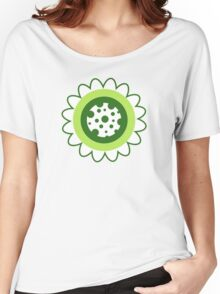 Retro Flowers Women's Relaxed Fit T-Shirt