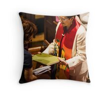 0546 Rev Dr Margaret Mayman's Induction Throw Pillow