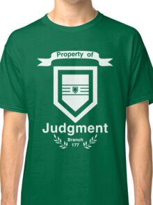 Property of Judgment Classic T-Shirt