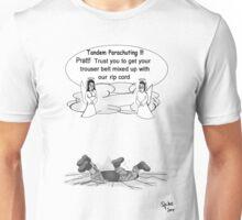 Tandem Parachuting Unisex T-Shirt