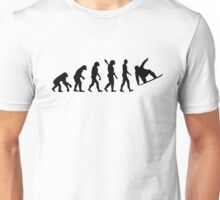 Evolution Snowboard Unisex T-Shirt