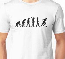 Evolution soccer player Unisex T-Shirt