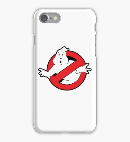 Original Ghostbusters Logo (in colour) iPhone Case/Skin