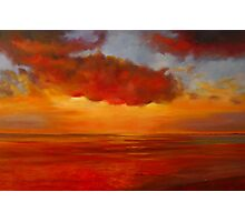 Spectacular on the Bay of Hythe Photographic Print