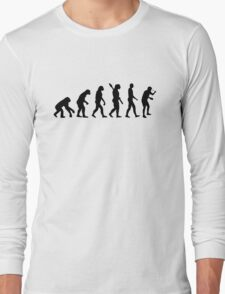Evolution Table tennis ping pong Long Sleeve T-Shirt