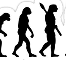 Evolution Table tennis ping pong Sticker