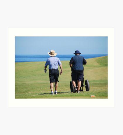 Cape Breton Golfers Art Print