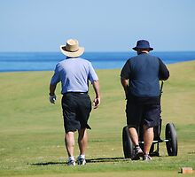 Cape Breton Golfers by Myscha Theriault