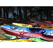 Kayaks of Cape Breton Photographic Print