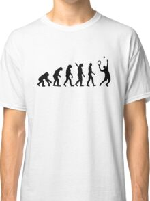 Evolution Tennis player  Classic T-Shirt