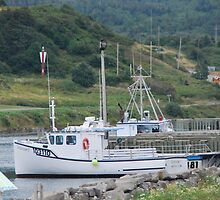 Fishing Boats of Cape Breton by Myscha Theriault