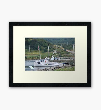 Fishing Boats of Cape Breton Framed Print