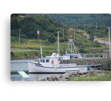 Fishing Boats of Cape Breton Canvas Print