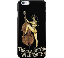 Call of the wild rhythm iPhone Case/Skin