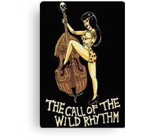 Call of the wild rhythm Canvas Print