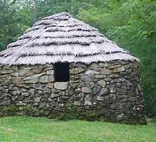 Stone Hut on Cape Breton Island by Myscha Theriault