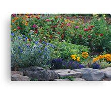 Stone Garden on Cape Breton Island Canvas Print