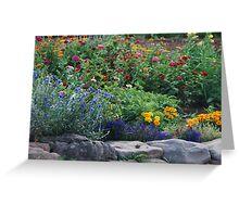 Stone Garden on Cape Breton Island Greeting Card