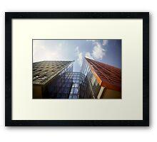 Google London Framed Print