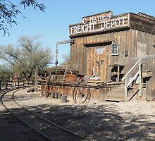 Freight Depot by Gordon  Beck