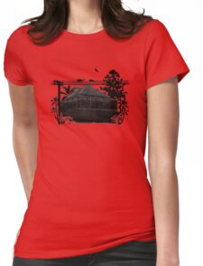 Evening in Suburban Brisbane Australia Womens Fitted T-Shirt