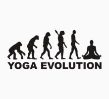 Yoga evolution by Designzz