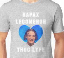 hapax legomenon Unisex T-Shirt