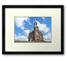 Church Near Cheticamp Framed Print