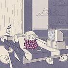 Rainy day nap by BumbleBeesh
