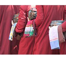 Collecting Alms Photographic Print