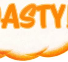 Kingdomcast Orange Bird Toasty logo Sticker