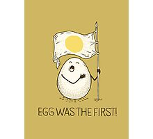 anthem of eggs Photographic Print