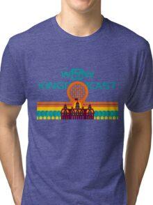 Kingdomcast Vintage logo Tri-blend T-Shirt