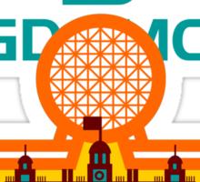 Kingdomcast Vintage logo Sticker
