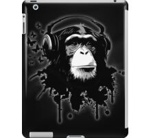 Monkey Business - Black iPad Case/Skin