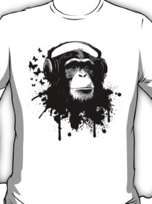 Monkey Business - Black T-Shirt