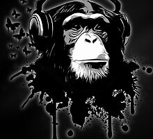 Monkey Business - Black by Nicklas Gustafsson