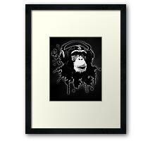 Monkey Business - Black Framed Print