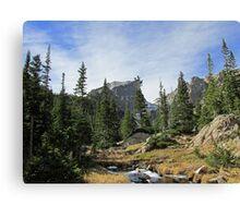 Hike to Hallett Peak Canvas Print