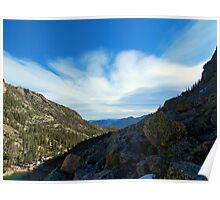 Looking East from Emerald Lake Poster