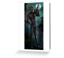 Hannibal - Wendigo costume Greeting Card
