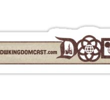 Kingdomcast Banner logo Sticker