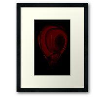 Red Morks Framed Print