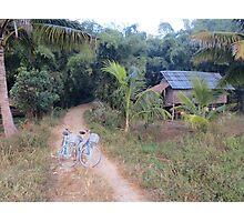 Bicycles at Dawn Photographic Print