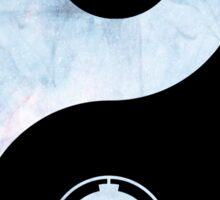 star wars yin yang Sticker