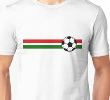 Football Stripes Portugal Unisex T-Shirt