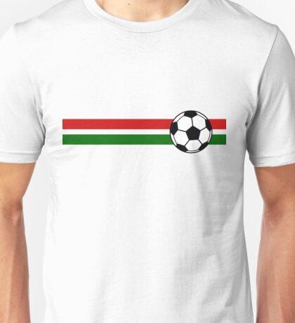 Football Stripes Portugal Unisex T-Shirt